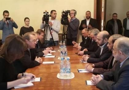 وفد من حركة حماس يصل موسكو
