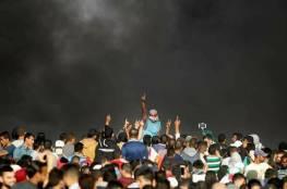 عشرات الاصابات بالرصاص خلال قمع الاحتلال الاسرائيلي للمتظاهرين شرق قطاع غزة