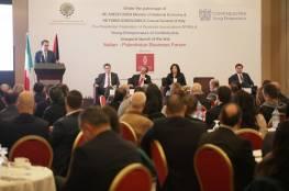 برعاية بنك فلسطين.. انطلاق أعمال مؤتمر تطوير العلاقات الاقتصادية الايطالية الفلسطينية