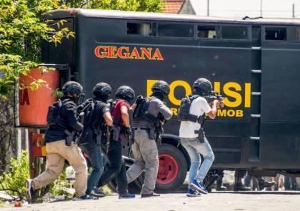 الشرطة الإندونيسية تقتل 4 أشخاص هاجموا مقرا لها