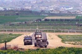 جيش الإحتلال ينشئ مصنعا للباطون على حدود قطاع غزة