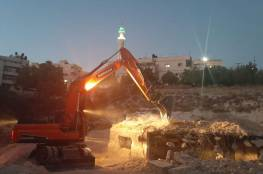 الاحتلال يشرع بهدم منزل في حي عين اللوزة بسلوان