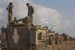 جيش الاحتلال يستدعي جزء من قوات الاحتياط وهو مستعد لعملية برية وينتظر الاوامر
