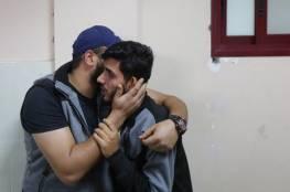 شهيدان يرفع عدد شهداء العدوان الاسرائيلي على غزة الى ستة