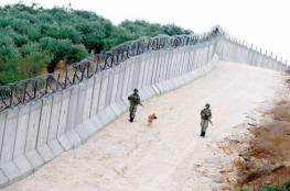 الاحتلال يستكمل بناء الجدار الاسمنتي والالكتروني مع لبنان
