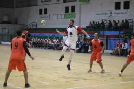 خدمات البريج يتصدر دوري كرة اليد