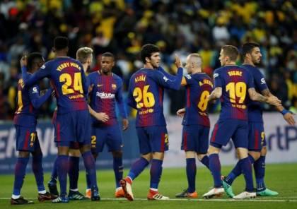 فيديو.. برشلونة يهزم صن داونز بثلاثية