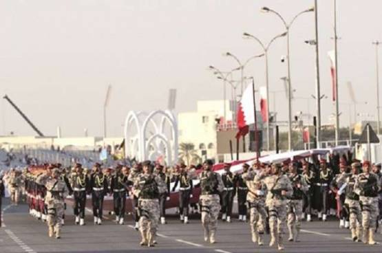 قطر: عروضنا العسكرية رسالة واضحة
