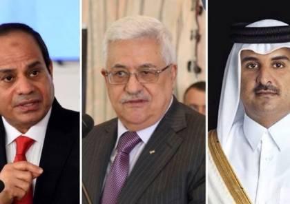 """""""سما"""" تكشف عن تفاصيل زيارة وفدي فتح للقاهرة والدوحة ..."""