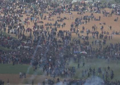 مركز أطلس: مسيرات العودة وأهداف القصف الإسرائيلي