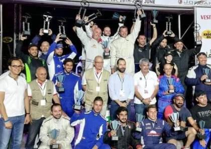 اتحاد رياضة السيارات يختتم مشاركته في بطولة الأردن لسباقات السرعة