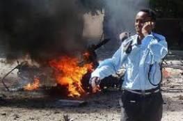انفجار مقديشو يودي بحياة 43 مواطن و 100 ألف دولار لمن يدلي بمعلومات