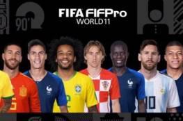 رسمياً .. رونالدو وميسي في تشكيلة الفيفا المثالية للعام 2018