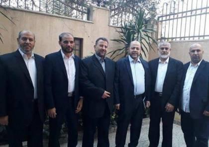 وصول وفد حركة حماس برئاسة نائب رئيس المكتب السياسي صالح العاروري إلى غزة