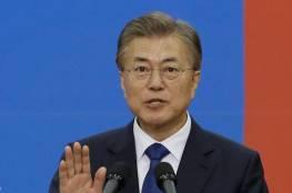 رئيس كوريا الجنوبية بخطابه الاول ياكد استعداده لزيارة بيويغيانغ