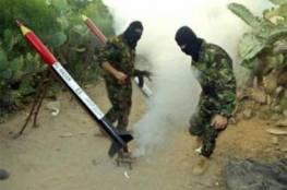 مصادر عبرية: حماس أطلقت 5 صواريخ تجريبية منذ الصباح