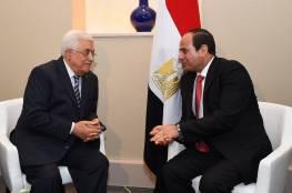 """الرئيس عباس يهنئ """"السيسي"""" بالذكرى الـ36 لتحرير سيناء"""