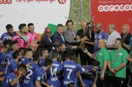 الرجوب يشيد بهلال القدس ويثمن دور الرياضة الفلسطينية