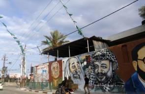 الرسم على الجدران.. وسيلة مهمة للتعبير عن المقاومة في غزة