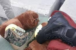 فيديو: الاحتلال يضبط شاحنة محملة بأحذية عسكرية للنخبة في القسام عبر كرم أبو سالم