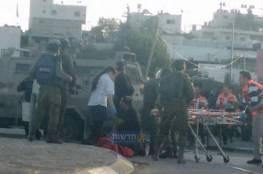 اصابة مجندتيين بعملية دهس قرب جنين