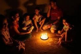 انقطاع الكهرباء عن محافظة رفح بعد تعطل الخطوط المصرية