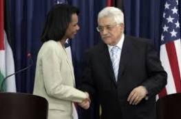 رايس: الانتخابات الفلسطينية كانت اكبر خطأ ارتكبناه وعباس رفض نزع سلاح المقاومة