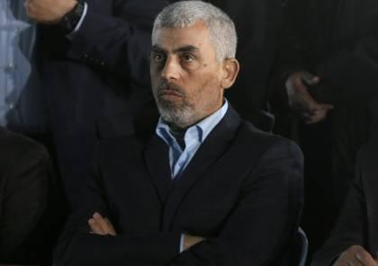 السنوار : لا جديد بمباحثات تطبيق التفاهمات مع إسرائيل