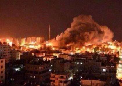 طائرات الاحتلال تقصف قطاع غزة دون اصابات