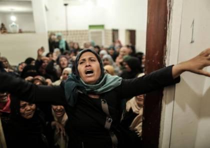 صور.. جماهير غزة تبدأ بتشييع جثامين شهداء يوم الارض