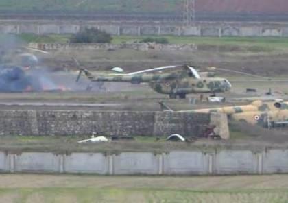 طائرات اسرائيلية تهاجم اهدافا ايرانية في مطار حماة العسكري السوري