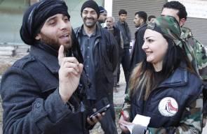 صور لمصالحة سورية في ريف دمشق