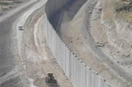 الاحتلال يستأنف بناء جدار حول قرية الولجة جنوب القدس