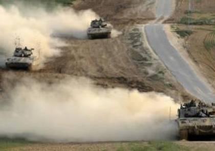 اليات الاحتلال تتوغل بشكل محدود شمال قطاع غزة