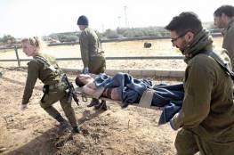 إصابة إسرائيليين بجروح خلال تدريبات عسكرية