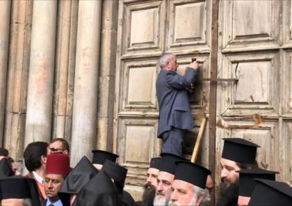 نتنياهو يقرر تجميد الإجراءات الضريبية ضدّ كنائس القدس و قرار بفتح كنيسة القيامة