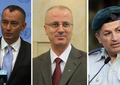 ملادينوف يعلن عن اتّفاق فلسطيني إسرائيلي لمراجعة آلية إعمار غزة لتحسين وظائفها