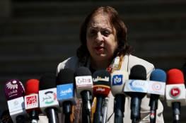 وزيرة الصحة: تسجيل 9 حالات تعافٍ في ضواحي القدس والخليل