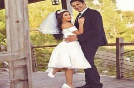 شاهد: الصور الأولى من زفاف السورية جيهان عبد العظيم