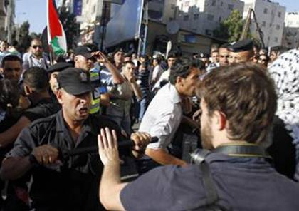 الضمير تعلن أسماء المعتقلين السياسيين في رام الله امس