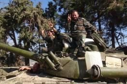 """الجيش السوريّ يصل إلى مشارف معبر """"نصيب"""" على الحدود الأردنية"""