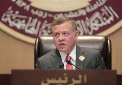 العاهل الاردني: سنواصل حماية المقدسات الاسلامية والمسيحية في القدس