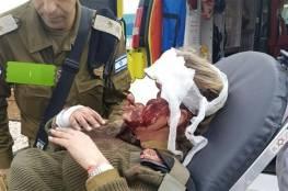 صور: السلطة تسلم جندي ومجندة دخلا جنين بالخطأ ومتظاهرون يستولون على سلاح احدهما