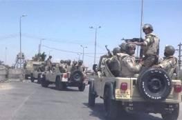 القاهرة: الجيش المصري يقتل 40 ارهابيا شمال سيناء