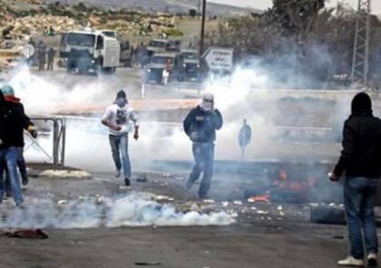 اصابات في مواجهات عنيفة بعدة محافظات في الضفة و غزة أثناء مسيرات دعم الأسرى