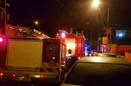 جنين: اصابة ثلاثة اطفال نتيجة حريق في بلدة اليامون