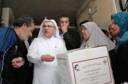 العمادي يتابع بنفسه توزيع منحة الأمير تميم الإغاثية