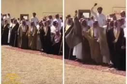 فيديو .. قيام اب بالعفو عن قاتل ابنه قبل تنفيذ حكم الإعدام بلحظات!
