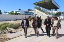 بلدية رفح تحدد موعد انتهاء العمل في مشروع الملعب البلدي
