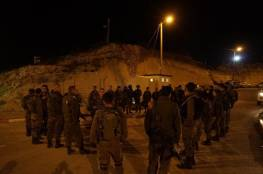 جيش الاحتلال يدرس تغيير مسار الجدار في قرية برطعة